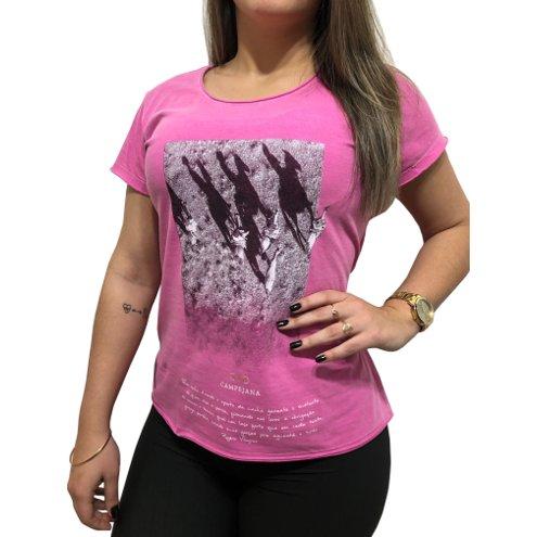 """T-shirt Feminina """"Lá d'onde eu venho"""""""