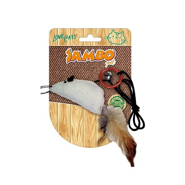 Brinquedo Jambo Rato Natural Catnip