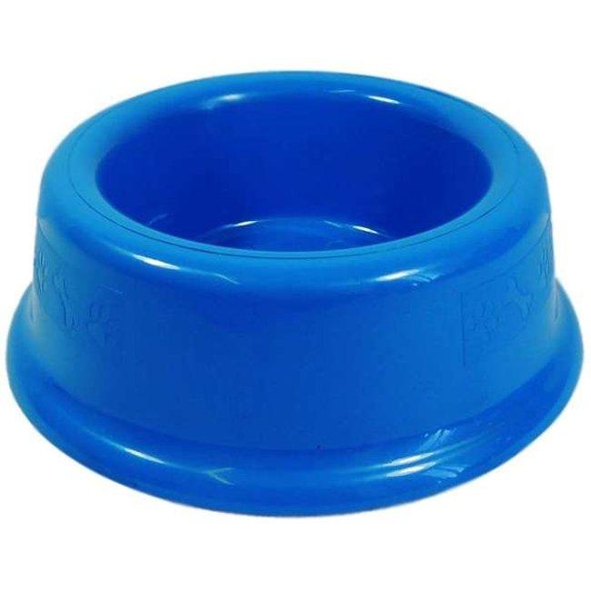 Comedouro Plástico Furacão Pet - Azul