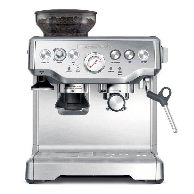 Cafeteira Elétrica Express Pro em Aço Inox 2 Litros 220V by Breville Tramontina