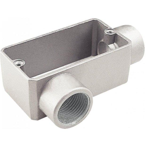 Caixa de Derivação em Alumínio Tipo lr Com Rosca Bsp. Tramontina