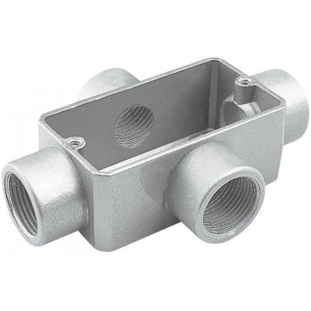 Caixa de Derivação em Alumínio Tipo x Com Rosca Bsp. Tramontina