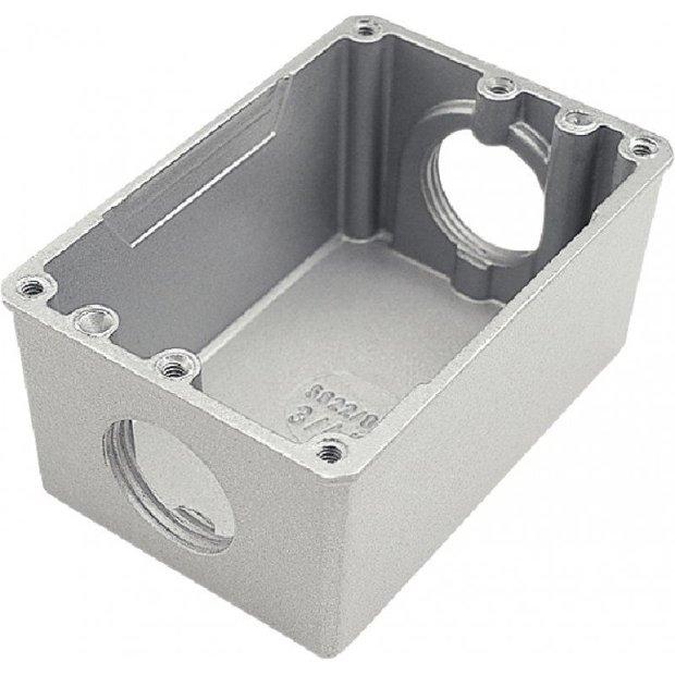 Caixa de Piso em Alumínio 4X2 Com Rosca Bsp. Tramontina