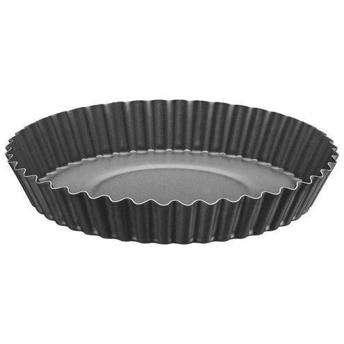 Forma Redonda Para Torta e Bolo Tramontina Brasil em Alumínio Com Revestimento Interno e Externo Antiaderente Starflon t1 Grafite 22 cm 1 l
