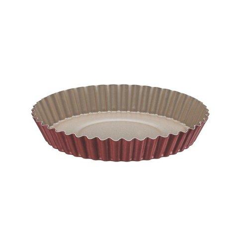 Forma Redonda Para Torta e Bolo Tramontina Brasil em Alumínio Com Revestimento Interno e Externo Antiaderente Starflon t1 Vermelho 22 cm 1 l