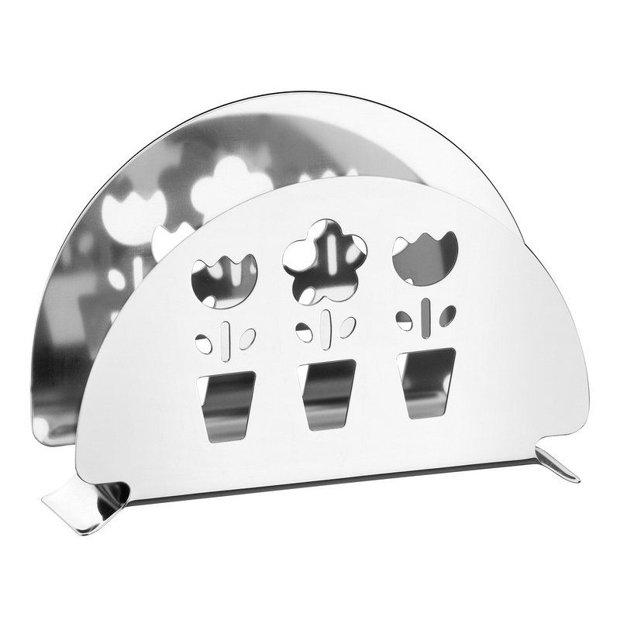 Porta Guardanapos Utility em Aço Inox Com Detalhes Vazados Tramontina