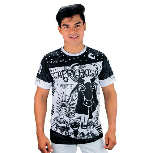 Camisa Oficial Black Caprichoso 2019 - Normal