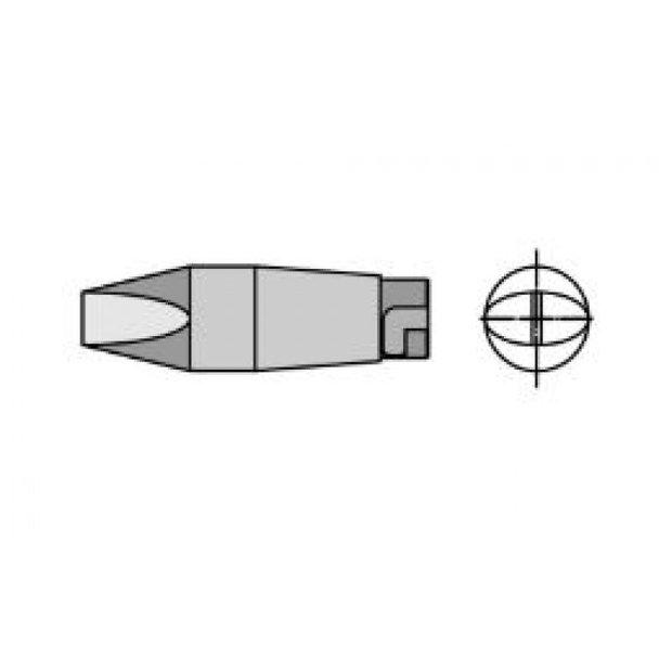 HT3 - Ponta Solda Fenda 7,0mm p/ Ferro LR82 Weller