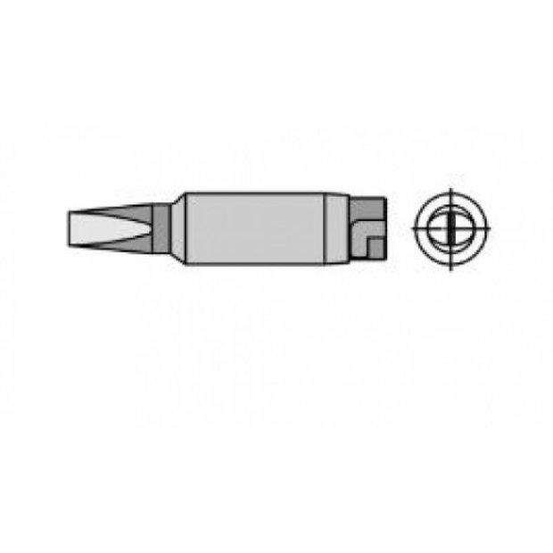HTE - Ponta Solda Fenda Longa 5,6mm p/ Ferro LR82 Weller