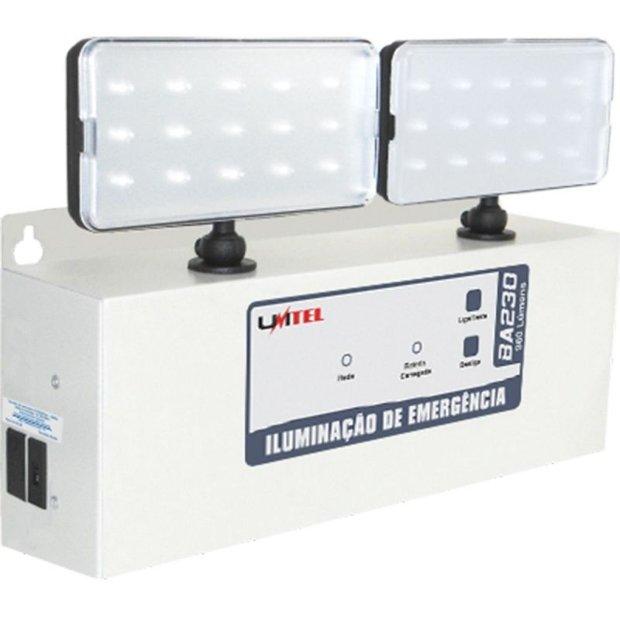 Iluminação Emergência 960 Lumens 5h BA230 Unitel