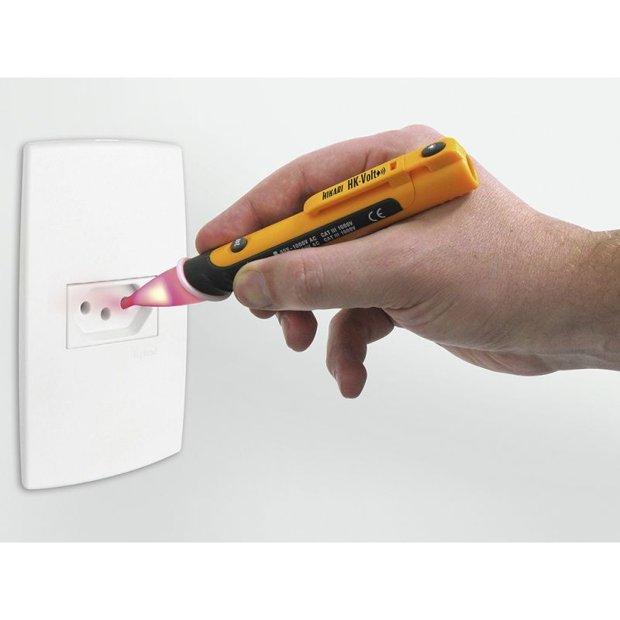Testador elétrico Detector de tensão HK-VOLT Hikari