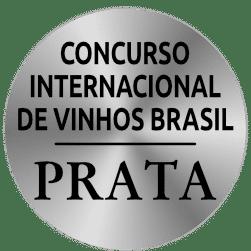 Concurso Internacional de Vinhos do Brasil PRATA