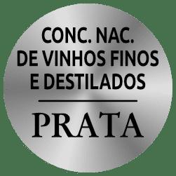 Concurso Nacional de Vinhos Finos e Destilados PRATA