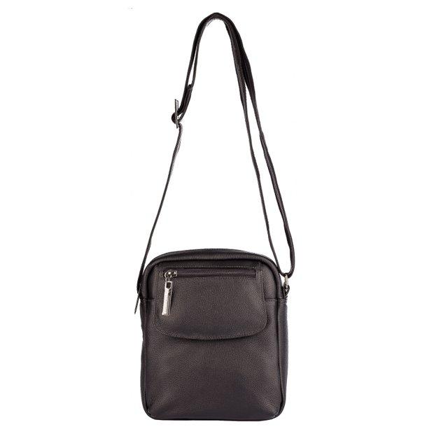 Bolsa tiracolo de couro Yuri