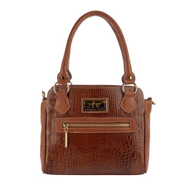 Bolsa de couro legítimo Amélia