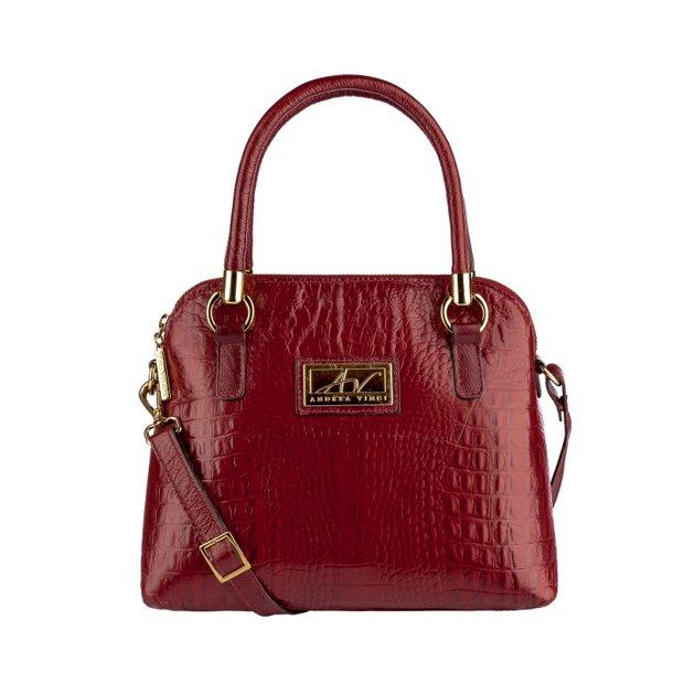 Bolsa de mão em couro Donna