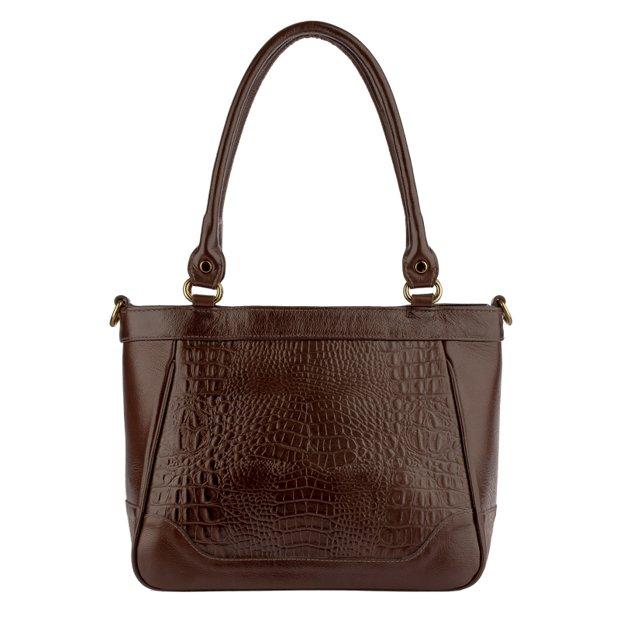Bolsa de couro legítimo Bianca