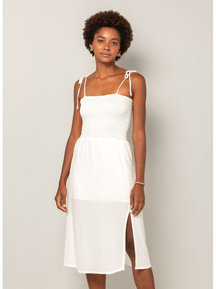 VESTIDO HOPELESS ROMANTIC OFF WHITE