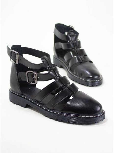 Sapato Vegano Tiras