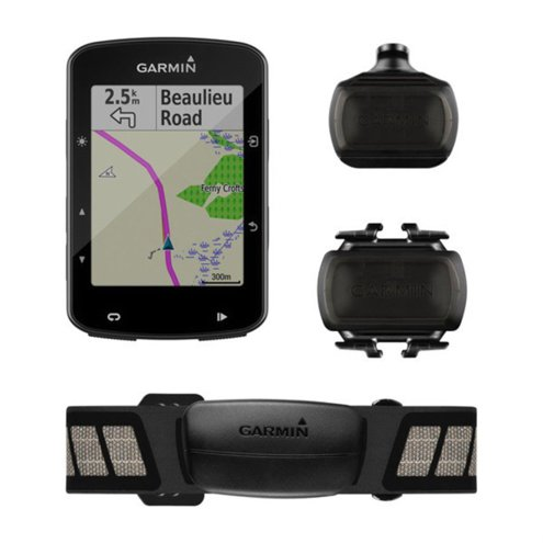 GPS GARMIN EDGE 520 PLUS BUNDLE C/ MONITOR E CINTA CARDIACA