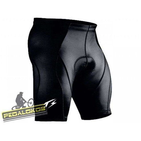 BERMUDA CICLISMO THUNDER SPORTS COOLMAX E LYCRA ROSSET