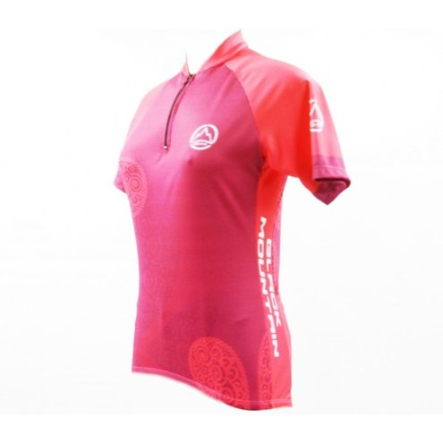 CAMISA CICLISMO BLACK MOUNTAIN FEMININA SUPER PINK