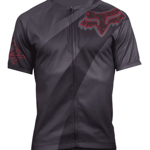 CAMISA CICLISMO FOX LIVEWIRE DESCENT CHARCOAL SS