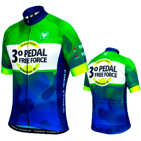 CAMISA CICLISMO FREE FORCE 3 PEDAL