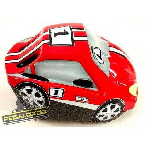 CAPACETE WK7 INFANTIL MODELO CARRO MB10