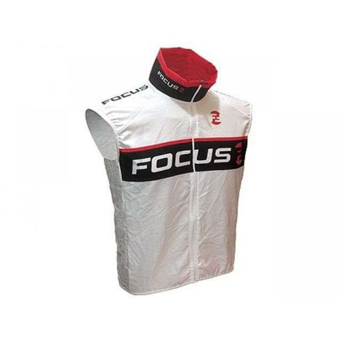 COLETE CORTA VENTO FOCUS ELITE TEAM WHITE