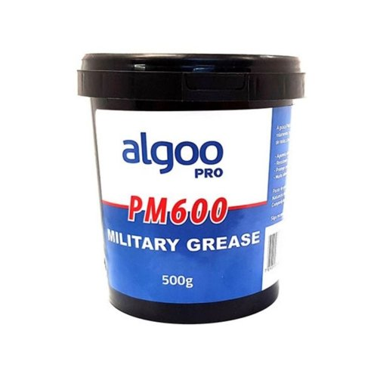GRAXA ALGOO PRO PM600 MILITAR P/ CUBOS (500 GRAMAS)