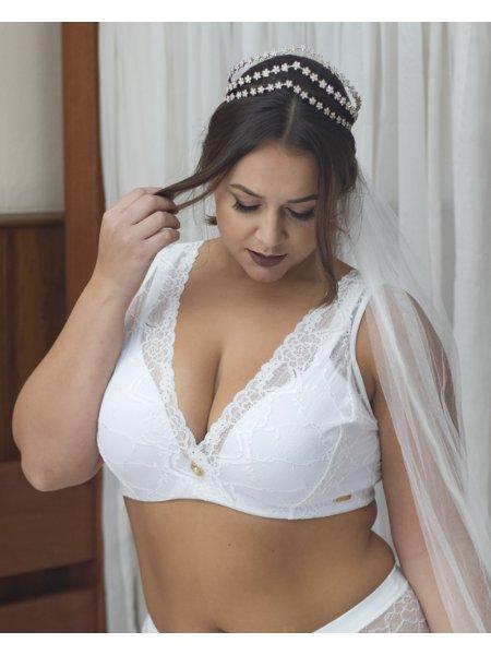 Sutiã Plus Size Anita Branco