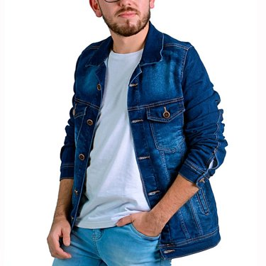 Jaqueta Voox 89 Jeans Adulta Masculina