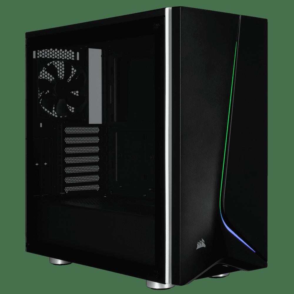 Gabinete Corsair Spec-06 Carbide Series CC-9011146-WW RGB Black