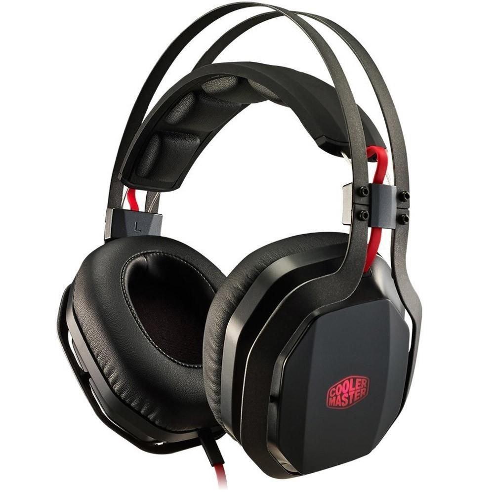 Headset Gamer CoolerMaster MasterPulse PRO 7.1 com Bass FX - SGH-8700-KK7D1