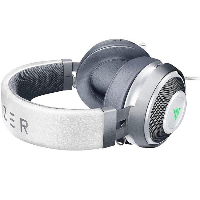 Headset Gamer Razer Kraken 7.1 V2 Mercury White - USB