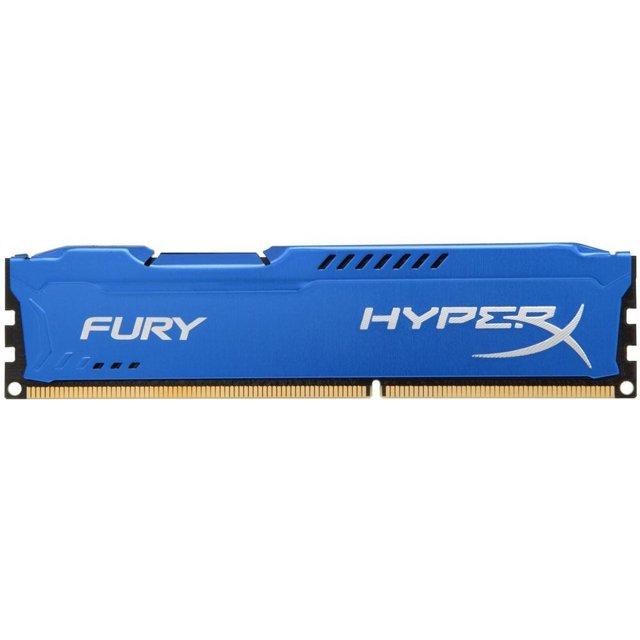 Memória HyperX Fury, 4GB, 1333MHz, DDR3, CL9, Azul - HX313C9F/4