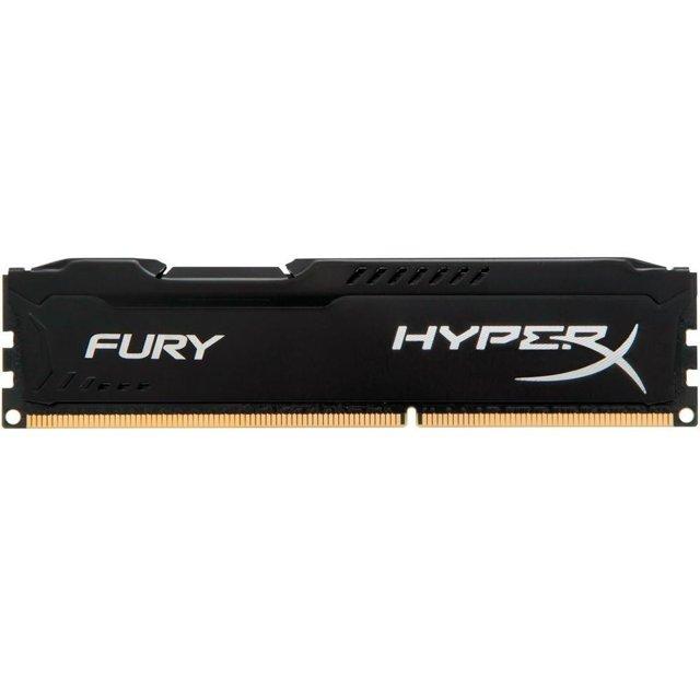 Memória HyperX Fury, 4GB, 1866MHz, DDR3, CL10, Preto - HX318C10FB/4