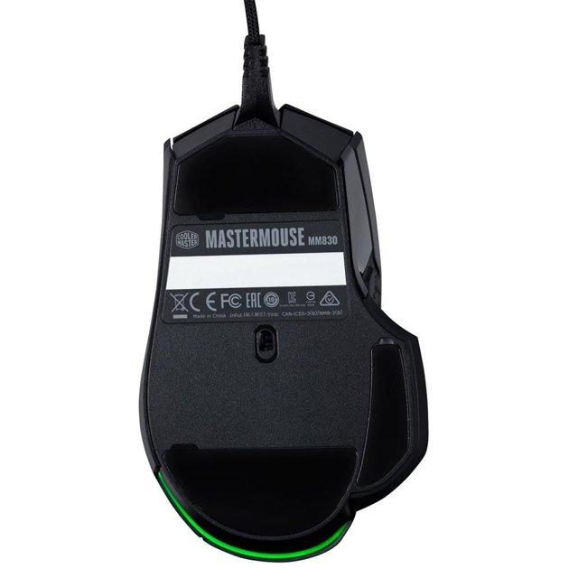 Mouse Gamer CoolerMaster MM830 24000DPI - MM-830-GKOF1