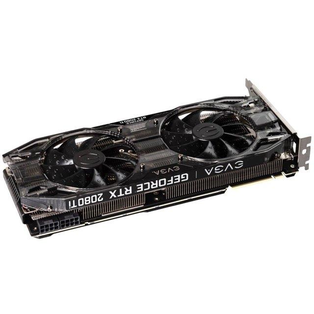 Placa de Vídeo EVGA Geforce RTX 2080 Ti Black Edition RGB 11GB GDDR6 352-Bit - 11G-P4-2281-KR
