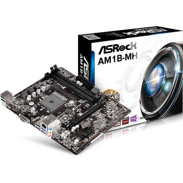 Placa-Mãe ASRock AM1B-MH, AMD AM1, mATX, DDR3
