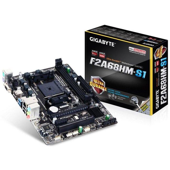 Placa-Mãe Gigabyte GA-F2A68HM-S1, AMD FM2+, mATX, DDR3