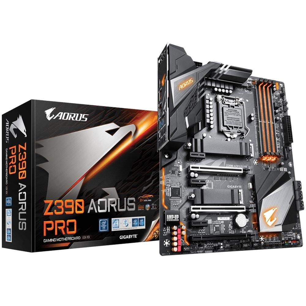 Placa-Mãe Gigabyte Z390 Aorus Pro, Intel LGA 1151, ATX, DDR4