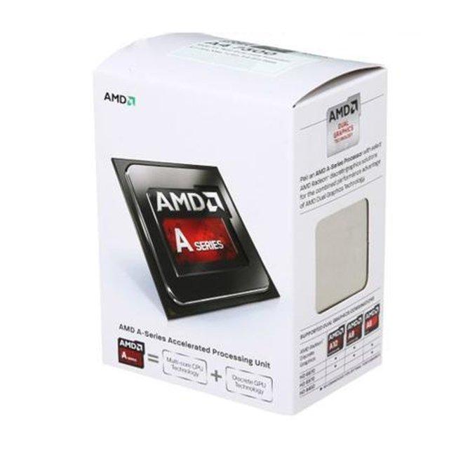 Processador AMD A4 7300 Richland, Dual Core, Cache 1MB, 3.8GHz (4.0GHz Max Turbo) FM2 AD7300OKHLBOX