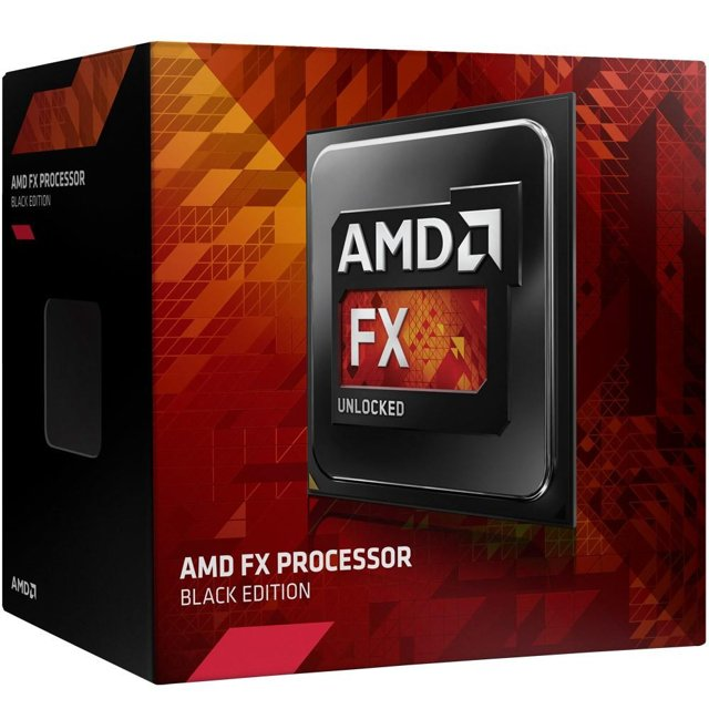 Processador AMD FX 8320E Black, Cache 16MB, 3.2GHz (4.0GHz Max Turbo), AM3+ FD832EWMHKBOX