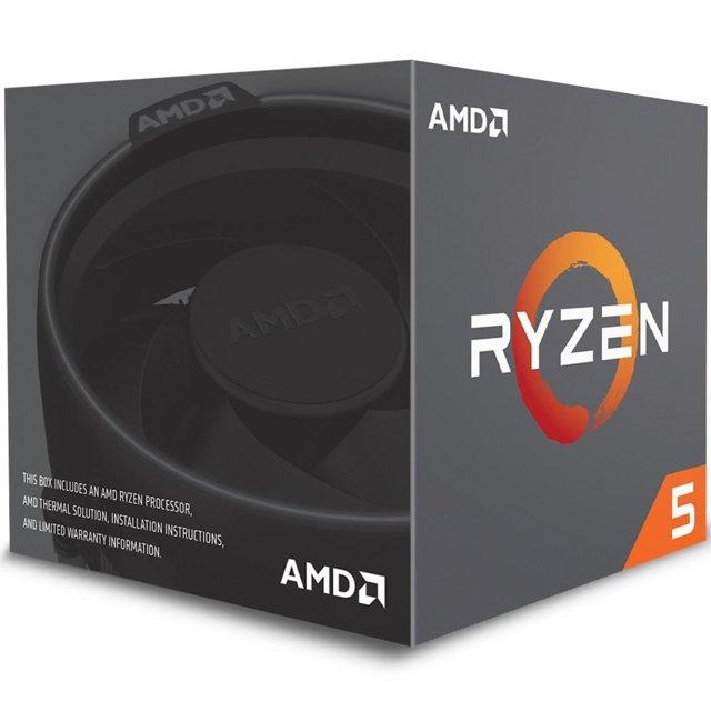 Processador AMD Ryzen 5 1600, Cooler Wraith Spire, Cache 19MB, 3.2GHz (3.6GHz Max Turbo), AM4, Sem Vídeo - YD1600BBAEBOX