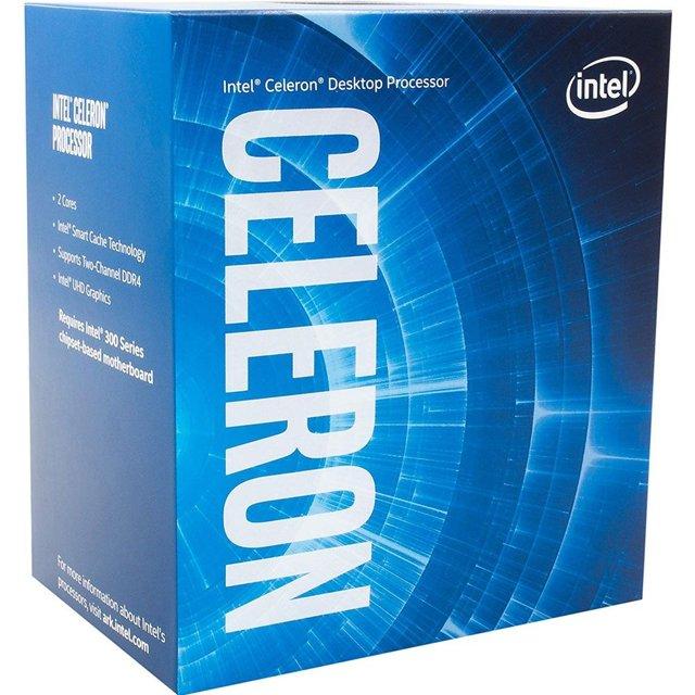 Processador Intel Celeron G4900 3.1Ghz 2MB Cache 2MB LGA 1151 - BX80684G4900