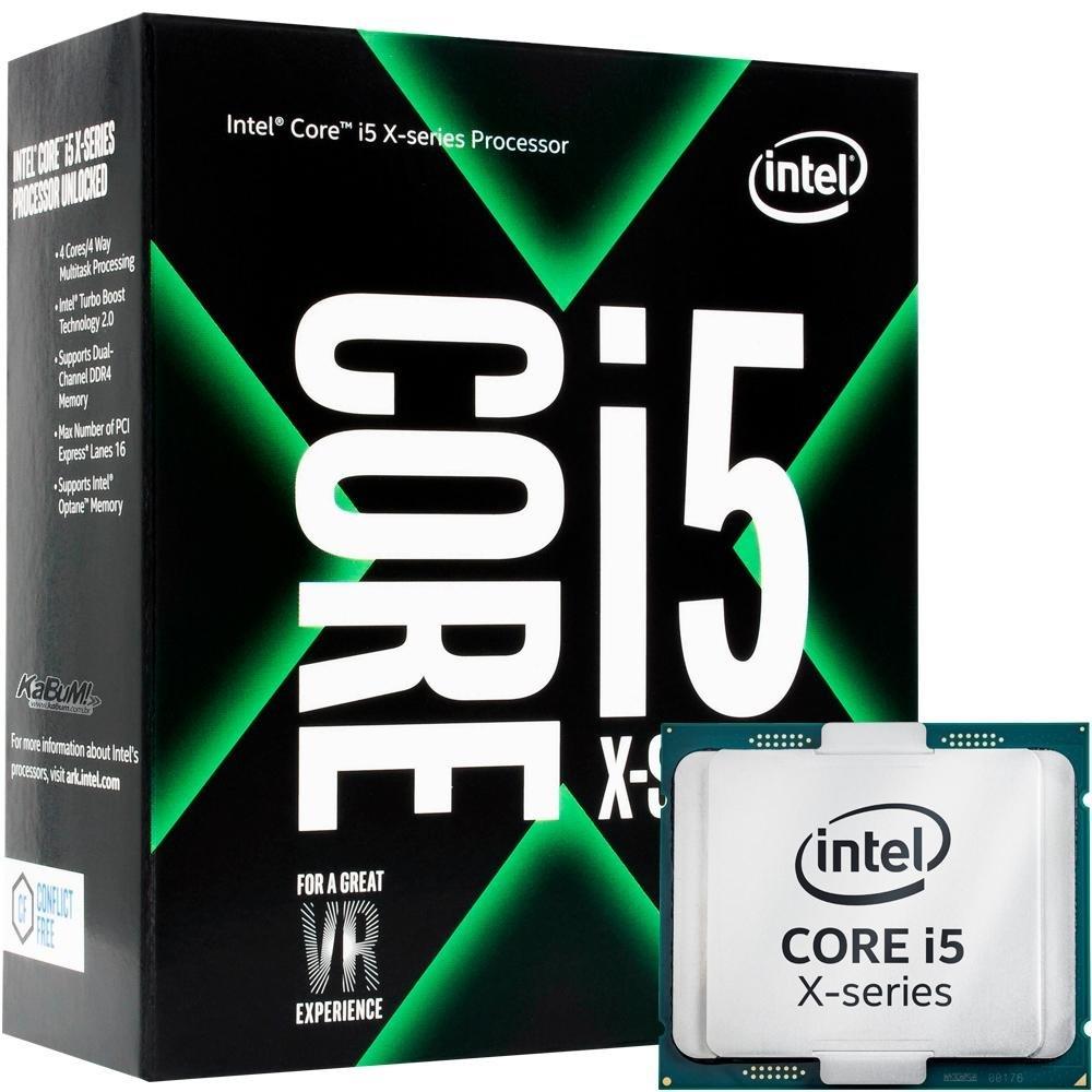 Processador Intel Core i5-7640X Kaby Lake, Cache 6MB, 4GHz (4.2GHz Max Turbo), LGA 2066 - BX80677I57640X
