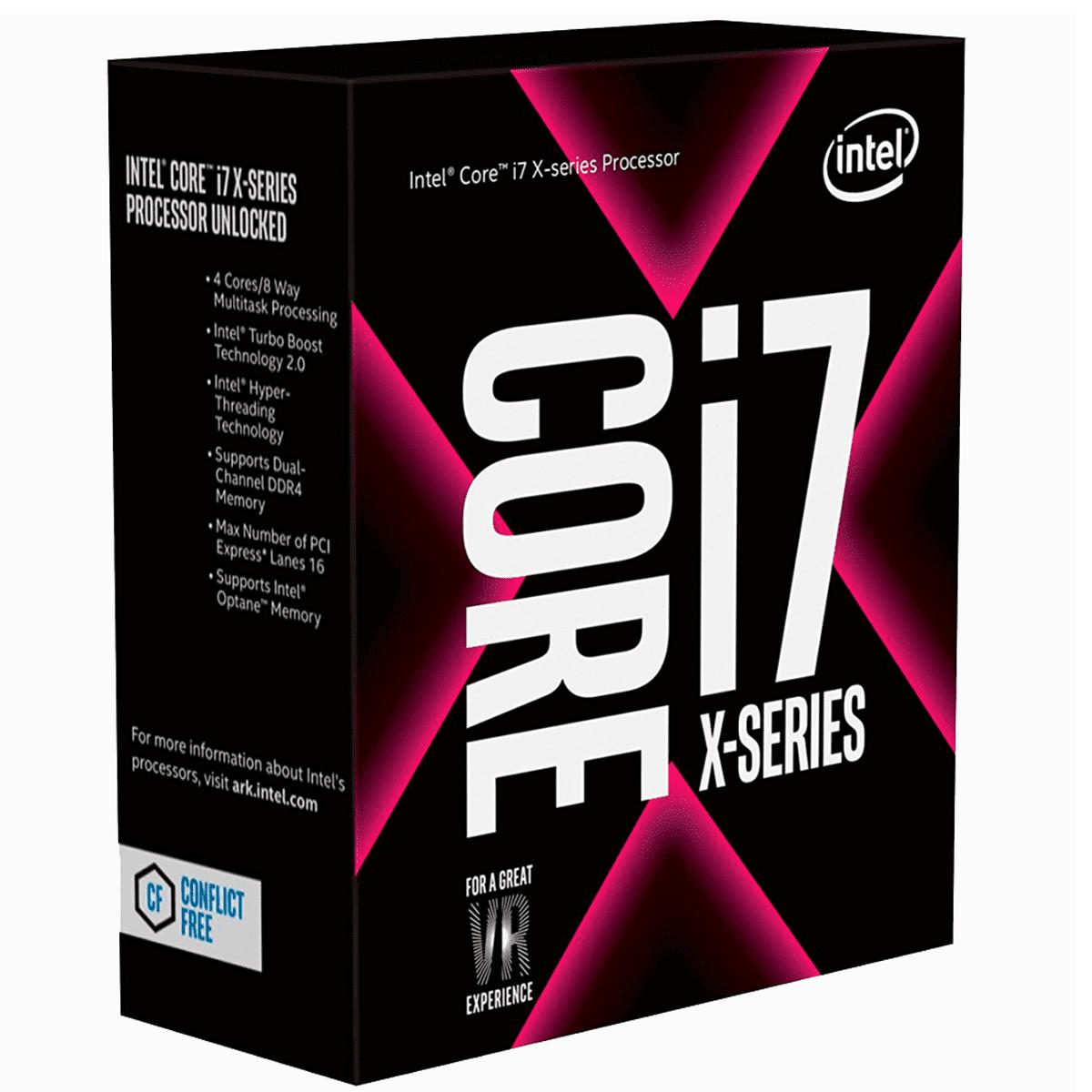 Processador Intel Core i7-7740X X-Series LGA2066 4.3Ghz 8MB Cache - BX80677I77740X