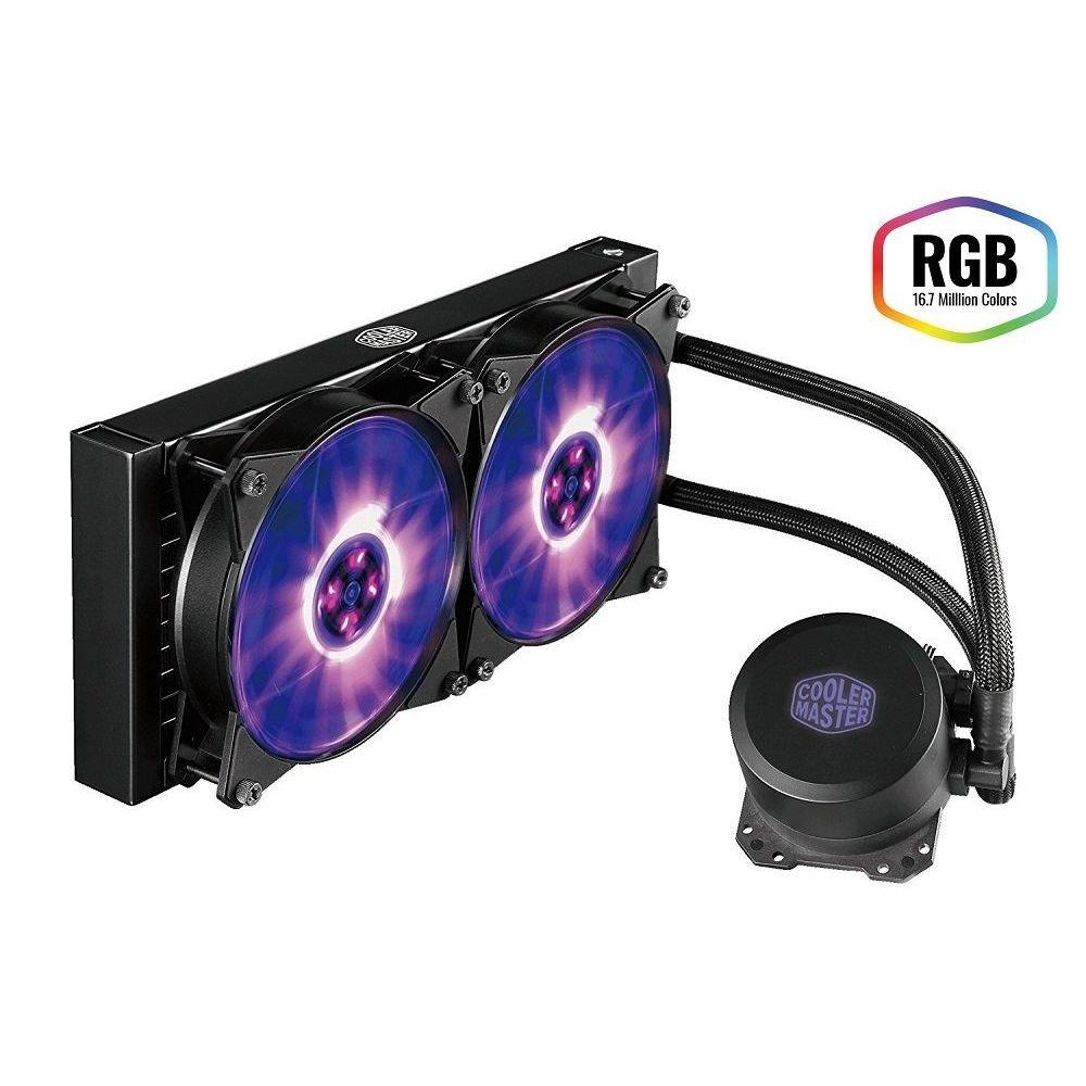 Watercooler CoolerMaster Master Liquid ML240L 240MM RGB - MLW-D24M-A20PC-R1